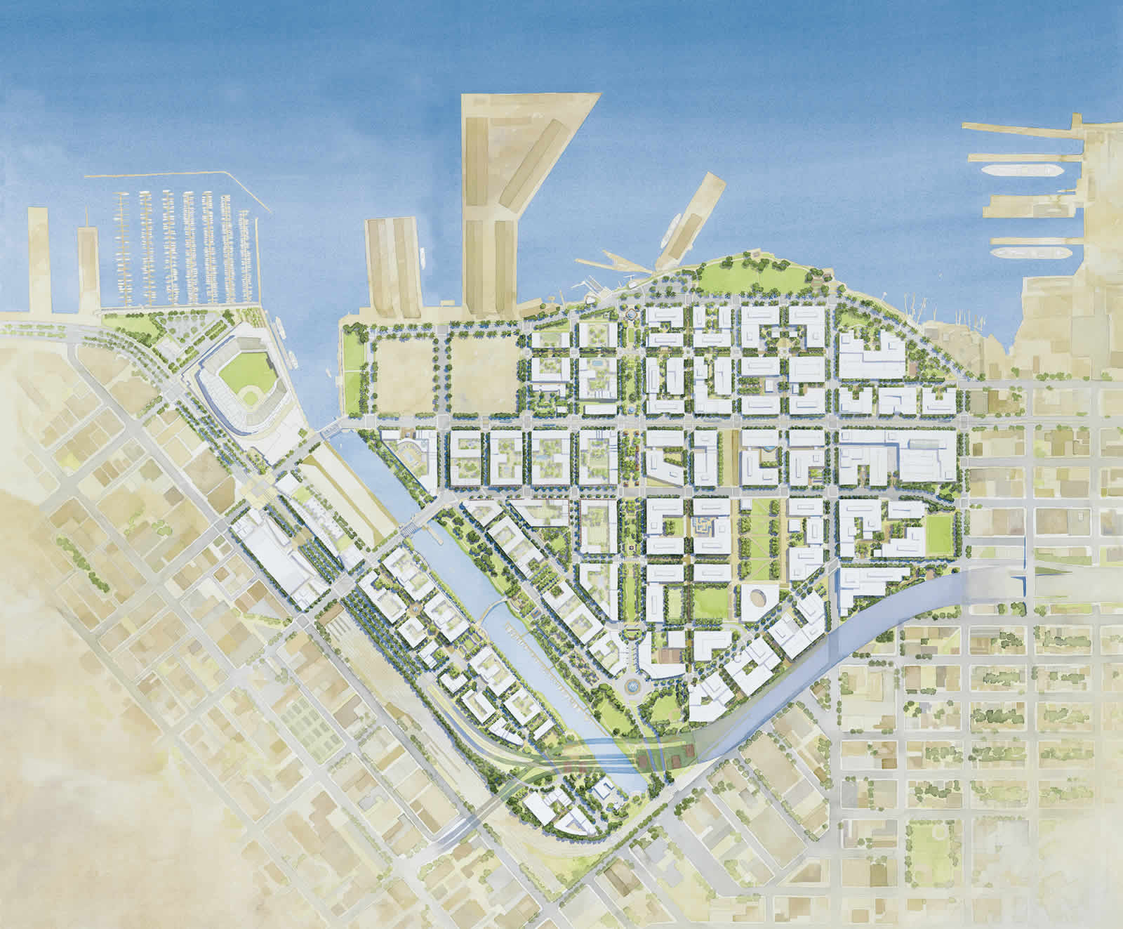 UCSF Mission Bay and LRDP - Pinto + Partners